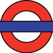 London Underground Blank Poster