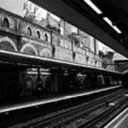 London Underground Station Poster