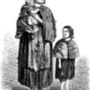 London, Vagrants, 1861 Poster