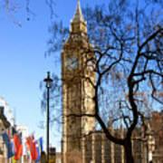 London's Big Ben Poster