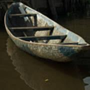 Lone Canoe Poster