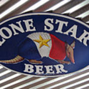 Lone Star Beer Poster