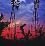 Lone Star Sunset Poster