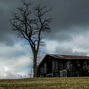 Lonely Barn Poster