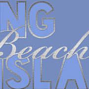 Long Beach Island Poster