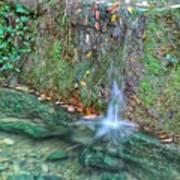 Long Exposure Waterfall Poster