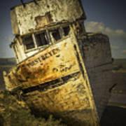 Long Forgotten Boat Poster