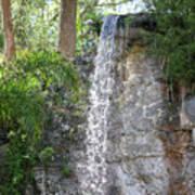Long Waterfall Drop Poster