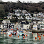 Looe Harbour - Cornwall Poster