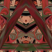 Look Within - Abstract Poster