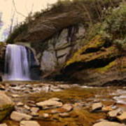 Looking Glass Falls Pisgah National Forest 2 Poster