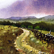 Looking Towards Pole Moor Poster
