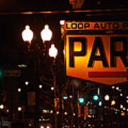 Loop Auto Park Poster by Jame Hayes