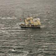 Lord Nelson Enters Sydney Harbour Poster
