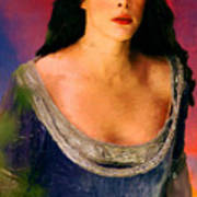 Lord Of The Rings Arwen Poster