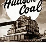 Loree Colliery Larksville Pa. Hudson Coal Co  Poster