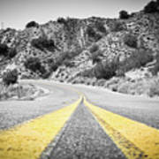 Los Padres Country Highway Poster
