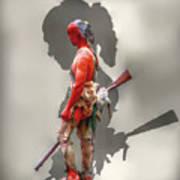 Lost Cause Seneca Warrior Ver 2 Poster by Randy Steele
