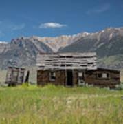 Lost River Range Cabin Poster