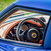 Lotus Evora S Steering Wheel -1858c Poster