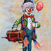Lou The Clown Poster