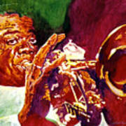 Louis Armstrong Pops Poster