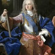 Louis De Bourbon Of Savoy. Prince Of Asturias. Later Louis I Of Spain  Poster
