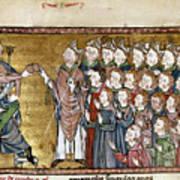 Louis Ix (1214-1270) Poster