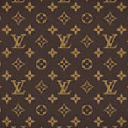 Louis Vuitton Texture Poster