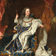 Louis Xv Of France As A Child Poster
