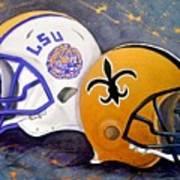Louisiana Fan Poster