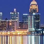 Louisville Kentucky Lights Poster