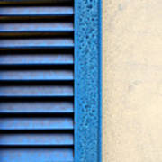 Louvered Poster