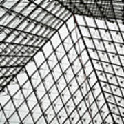 Louvre Above Poster
