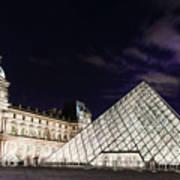 Louvre Museum 2 Art Poster