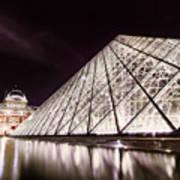 Louvre Museum 4 Art Poster