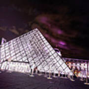 Louvre Museum 5 Art Poster