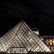 Louvre Museum 6 Art Poster
