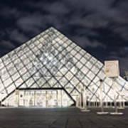 Louvre Museum Art Poster