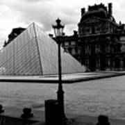 Louvre Museum  Poster