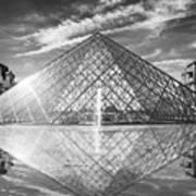 Louvre Pyramid, Paris Poster