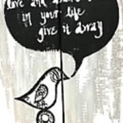 Love And Abundance Poster