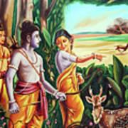 Love And Valour- Ramayana- The Divine Saga Poster