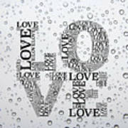 Love Droplets Poster