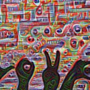 Love Hands Rendering Poster