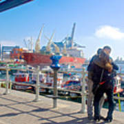 Love In The Port Of Valpaparaiso-chile Poster