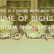 Love Is A Smoke Poster