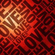 Love Letters Poster by Michael Tompsett
