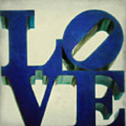 Love Makes Me Blue Poster