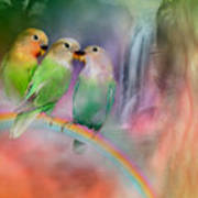 Love On A Rainbow Poster